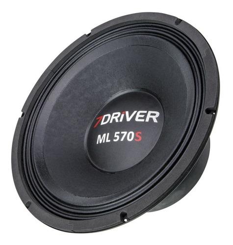 alto falante woofer 7driver ml570s 570w rms 12 polegadas