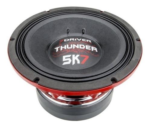 alto falante woofer 7driver thunder 5k7 2850w rms 12 polegad