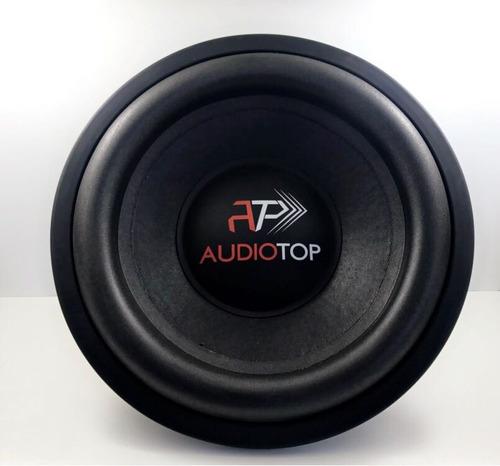 alto falantes áudio top, 600 rms 12 , subwoofer, grave forte