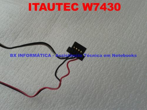 alto falantes itautec w7430