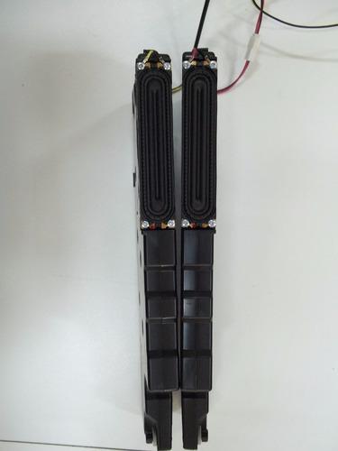alto falantes original  samsung un40f5500ag (par)  semi novo
