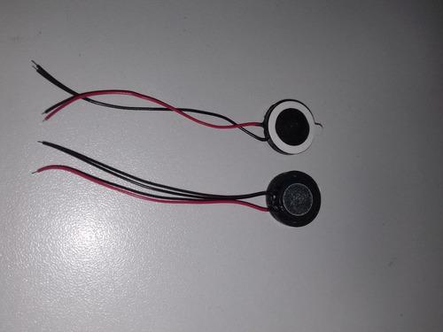 alto falantes para telefone, tablet kit com 2pç 1,5cm