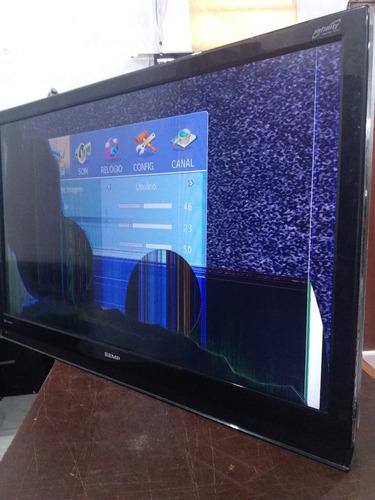 alto falantes tv semp lc4246 (par)