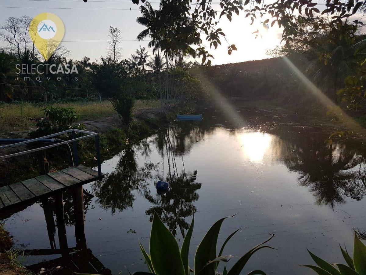 alto luxo sítio de 2.2 alqueires a 15km de boapaba - ch0003