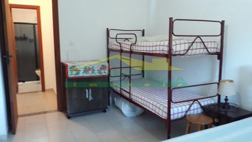 alto padrão mobiliado 01 dormitório, vista definitiva para o mar, só na imobiliária em praia grande. - mp12661