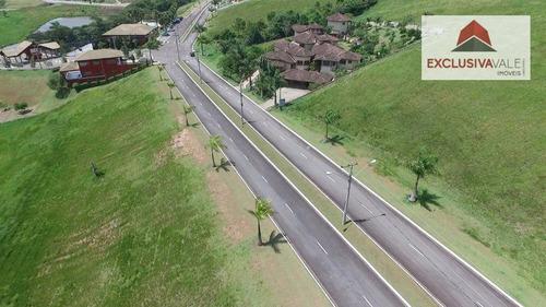 alto padrão - terreno residencial com 1.113m² no condomínio quinta dos lagos na rodovia dos tamoios - te0054