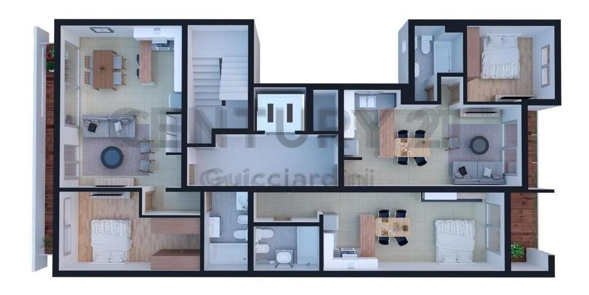 altos de moreno 16 e/ 55 y 56 - 2 dormitorios