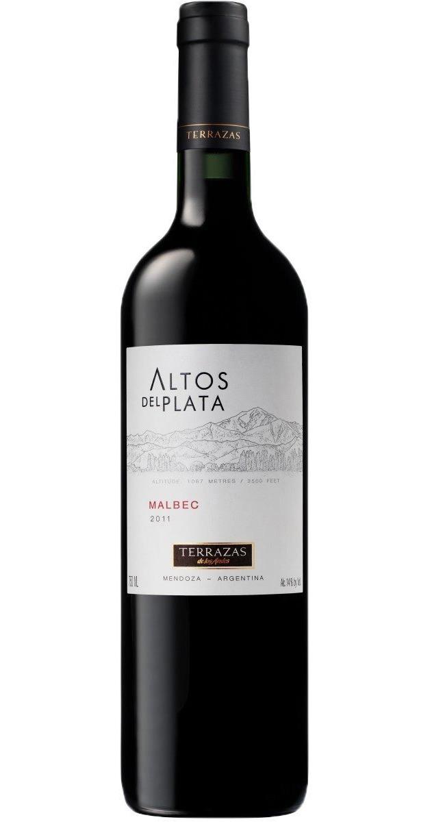 Altos Del Plata Malbec 750ml Terrazas De Los Andes