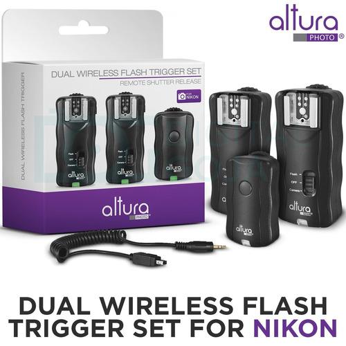 altura photo disparador de flash inalámbrico para nikon