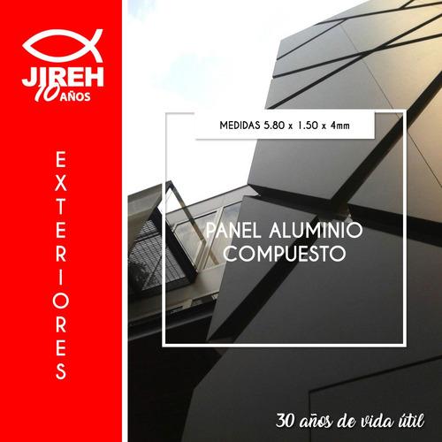 alucobond aluminio compuesto jireh -policarbonato acrílico