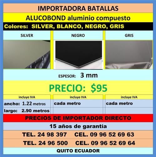 alucobond aluminio compuesto policarbonato teja española  b4