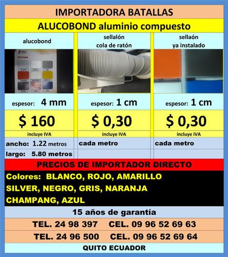 alucobond instalc aluminio compuesto policarbonato fachadas