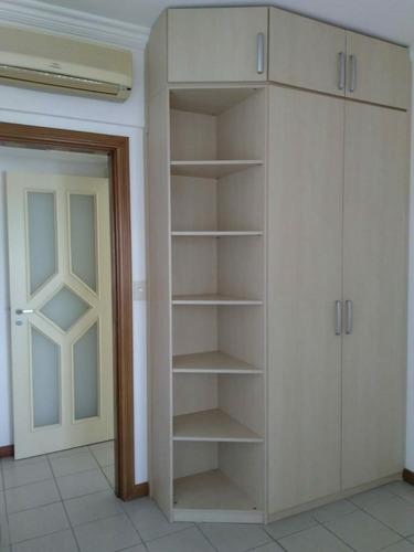 aluga-se apartamento no parque 10,  tres quartos sendo uma suite, 02 vagas, andar alto, 16 andar todo mobiliado. - 31339