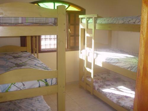 aluga-se casa na praia em itanhaém para temporada, 2 quartos