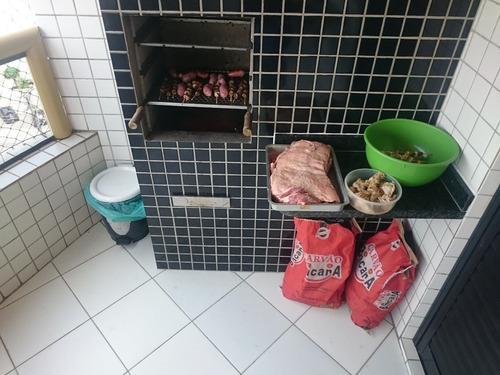 alugo apto 1 dorm alto padrão varanda gourmet p/ carnaval pg