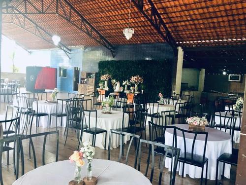 alugo cadeiras, mesas de ferro e toalha para festas