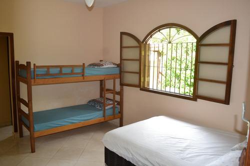 alugo casa com 3 dormitórios para temporada ubatuba