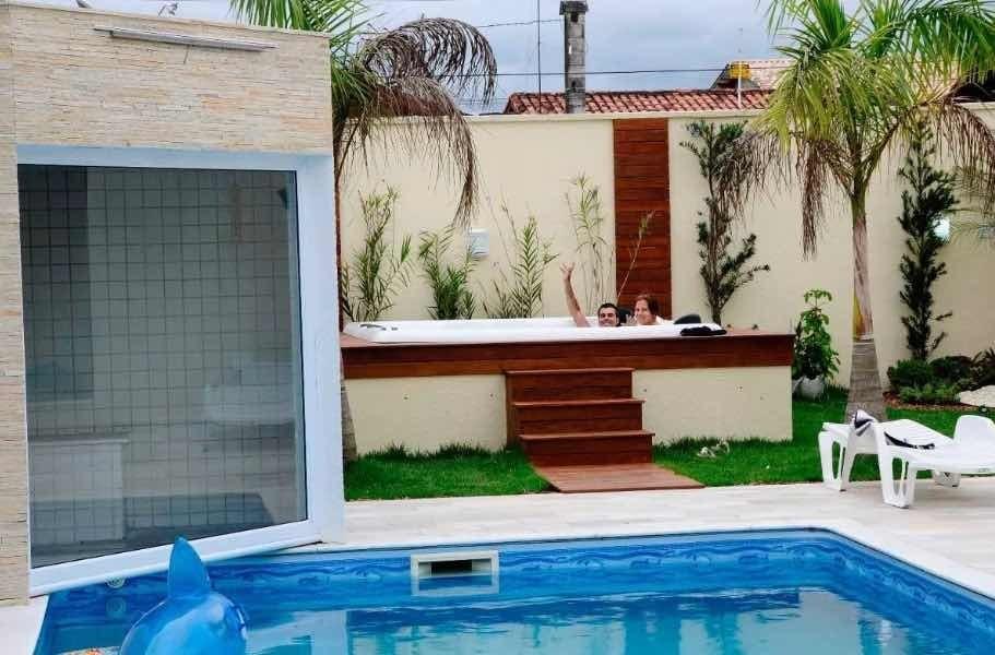 alugo casa em peruíbe bairro nobre imperador para temporada