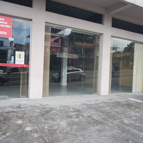alugo espaçosa loja na major gabriel,  na praça 14, 500 metros quadrados, porcelanato, blindex - 32311