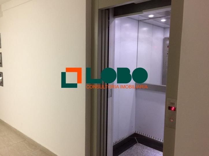 alugo excelente apartamento, prédio com elevador - 117
