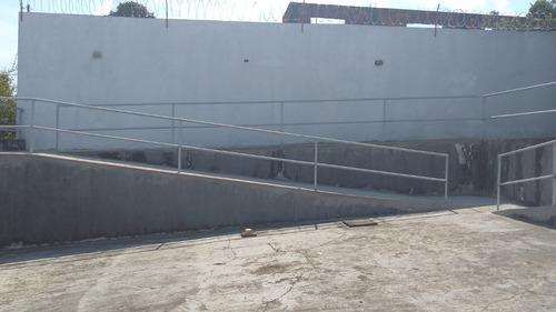 alugo excelente galpao na cachoeirinha com 1.000 m2 estacionamento para 10 carros, nivel 4, pe direito 10mt, semi-novo, 1 doca manaus am - 31973