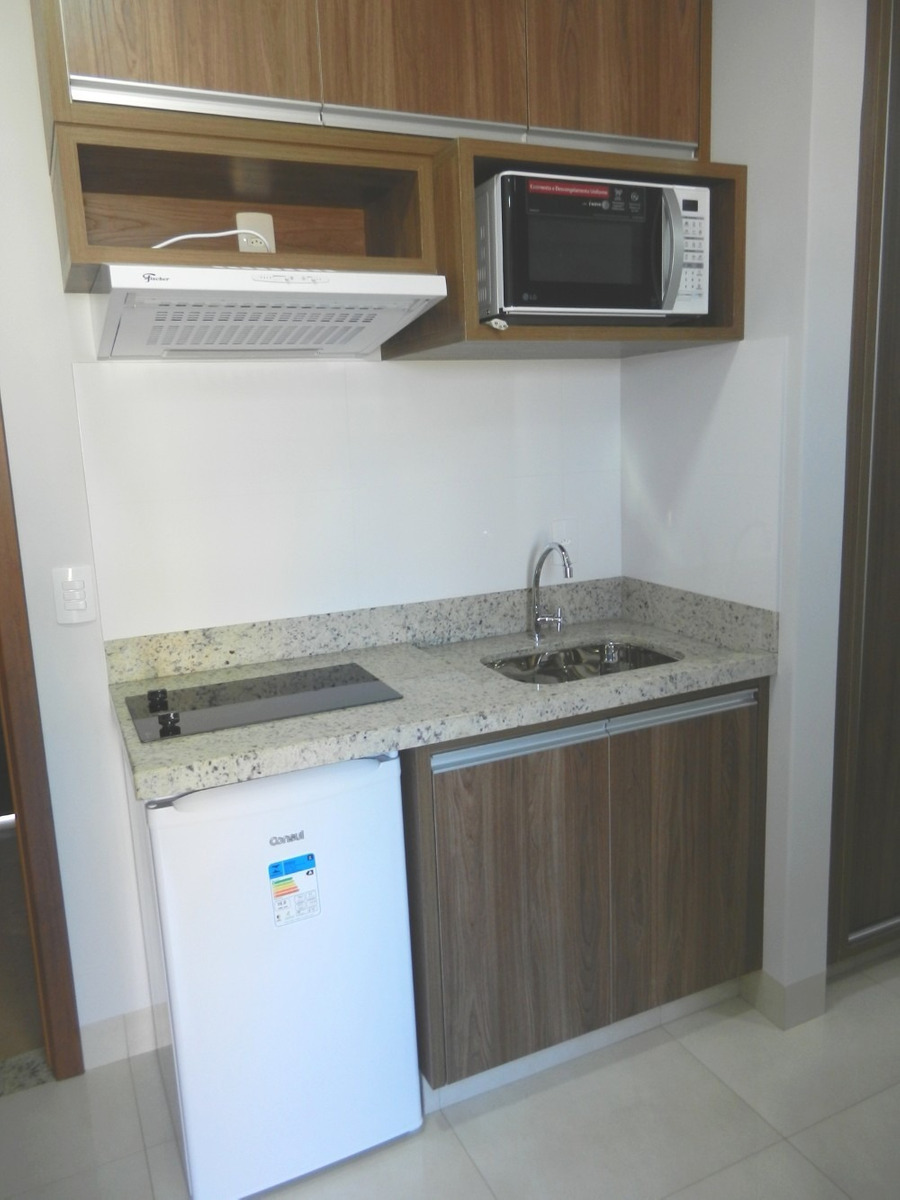 alugo flat todo mobiliado, inclusive com eletrodomésticos