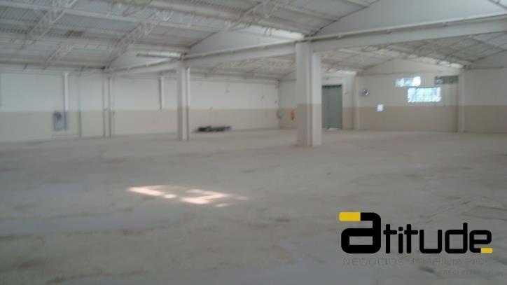 alugo galpão condomínio fechado 1600 m² jandira sp. - 1709