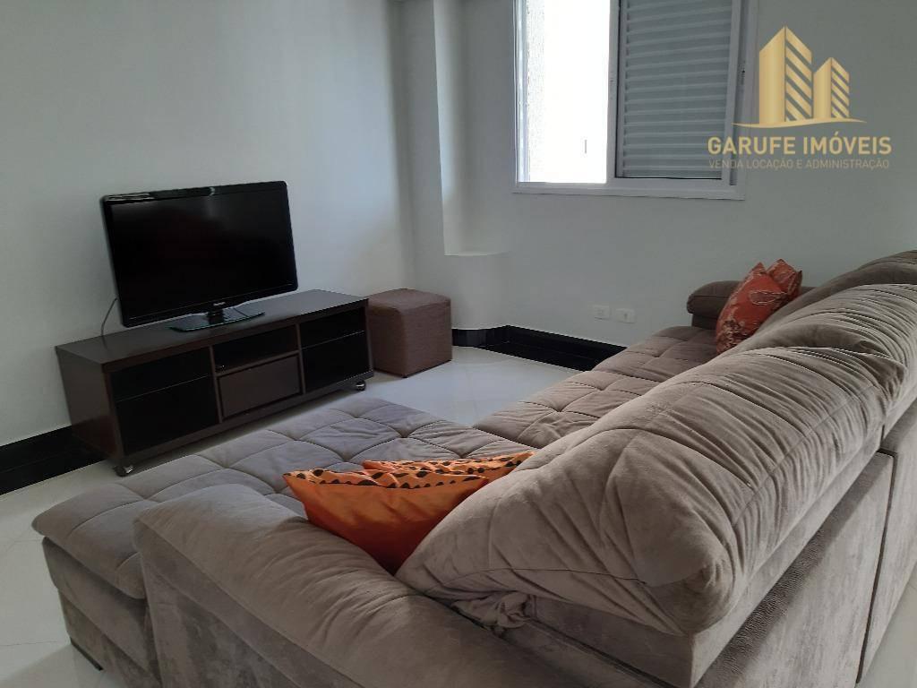 alugo mobiliado, apartamento com 2 dormitórios, 102 m² por r$ 2.750/mês - jardim das indústrias - são josé dos campos/sp - ap1624