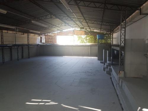 alugo otimo galpao comercial com 689 m2 na vila da prata - sao jorge manaus am - 31996