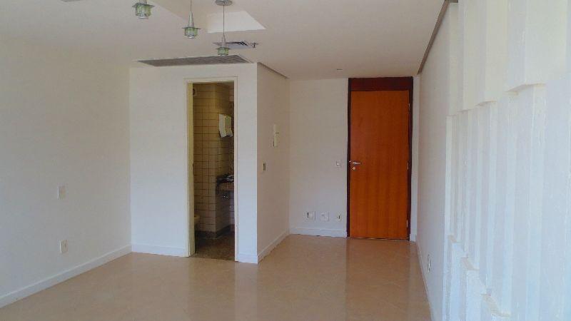 alugo sala comercial s. autarquias sul, 27 m2, ar central