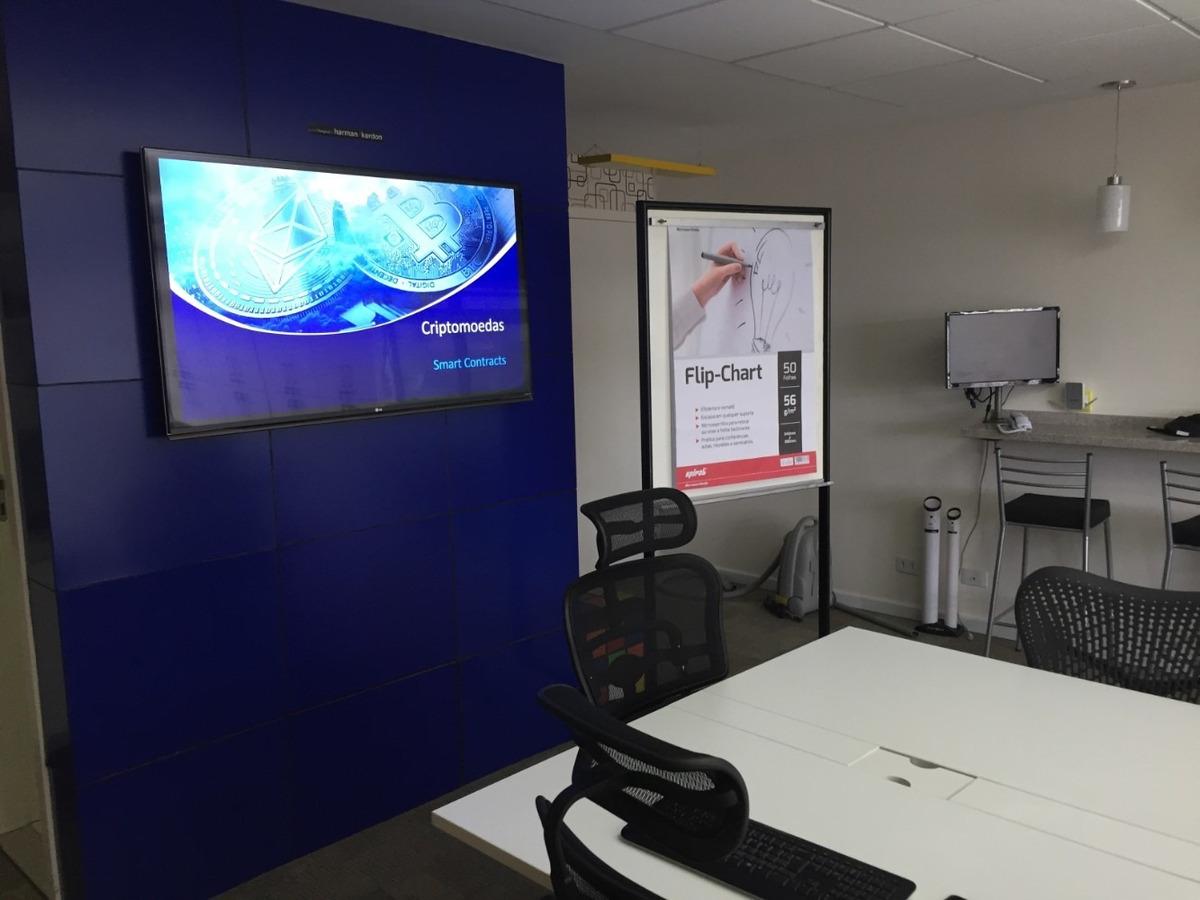 alugo sala de treinamento / reunião / coworking 50m2 diária