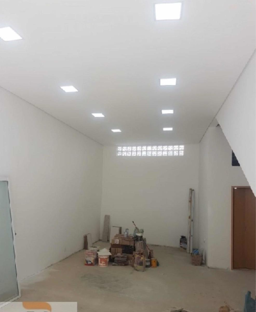 alugo salão comercial (novo) - centro diadema
