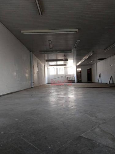 alugo salão comercial  vila madalena - com 180m², r$ 3.000/mês - são paulo/sp - sl0020
