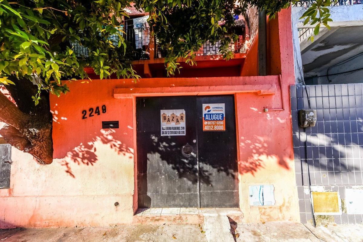 aluguel apartamento 1 quarto - rua pereira filgueiras