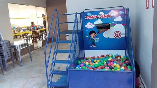 aluguel brinquedos: cama elástica,piscina de bolinhas,fut