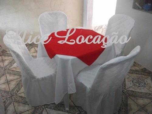aluguel brinquedos mesas cadeira de plastico zn/zo/centro/zs