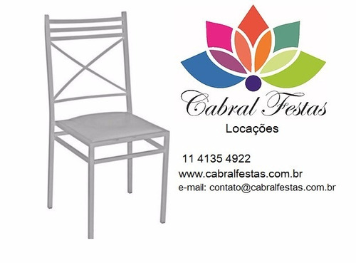 aluguel cadeira ferro , madeira, puffs, bistrô, toalhas