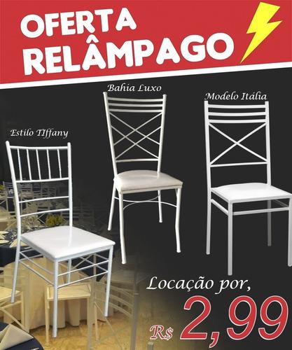 aluguel cadeiras de ferro tiffany mesas sousplats rattan