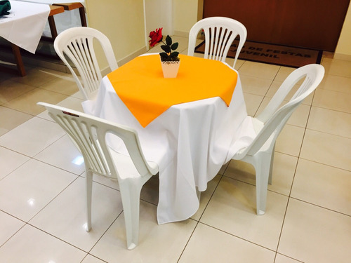 aluguel cadeiras, mesas, toalhas - z.norte e oeste ( novos )