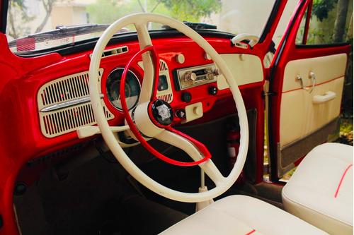 aluguel carro antigo - fusca conversível vermelho - eventos