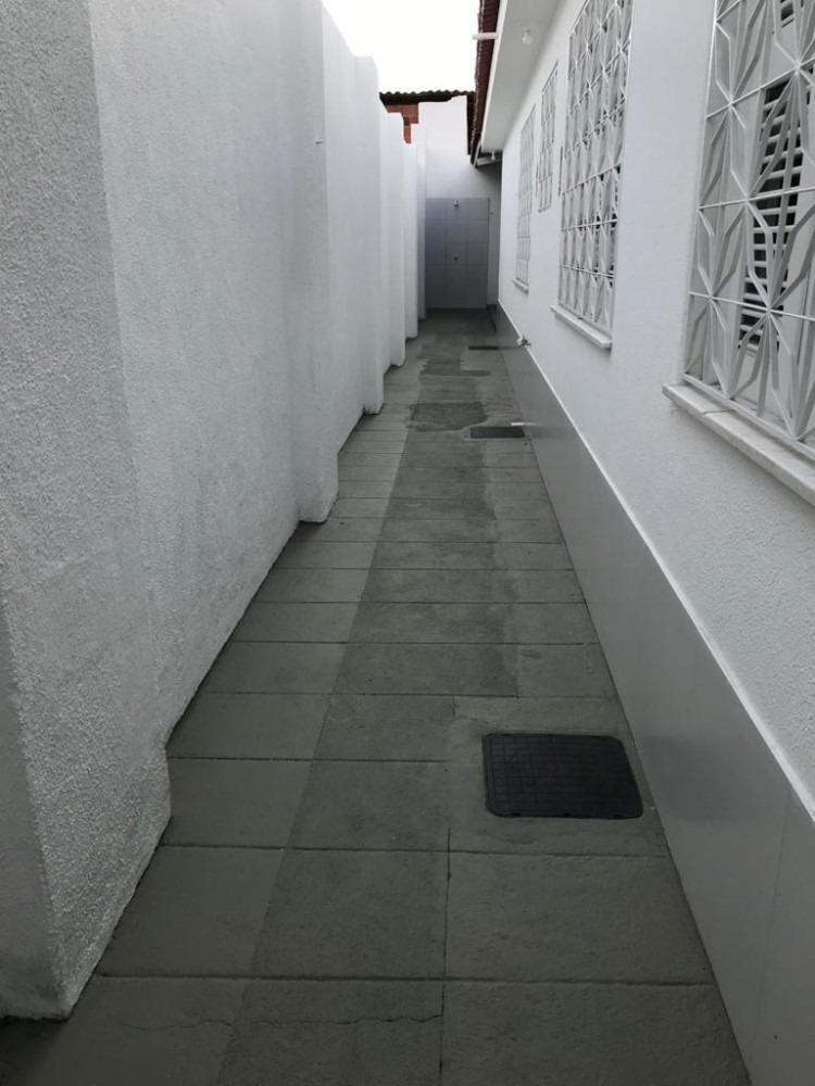 aluguel casa 3 quartos, garagem - cid. dos funcionários