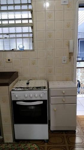 aluguel de apartamento com 1 dormitório mobiliado r$ 1.100/mês - canto do forte - praia grande/sp - ap4767