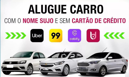 aluguel de carros/veiculos para motoristas uber