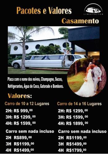 aluguel de limousines em são paulo e região