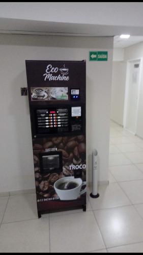 aluguel de máquina de café / máquina vending machine