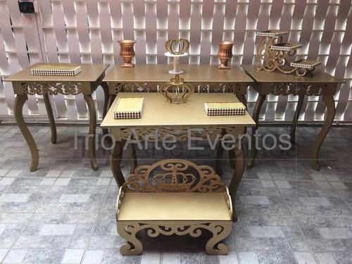 aluguel de mesas provençais e decorações a partir de r$140,0