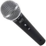 aluguel de microfone de cabo