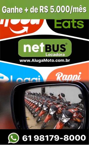 aluguel de moto para app ifood rappy uber locação brasilia