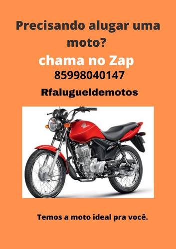 aluguel de motos- disponível