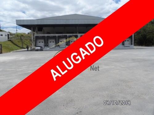 aluguel galpão caieiras  brasil - 513a-a